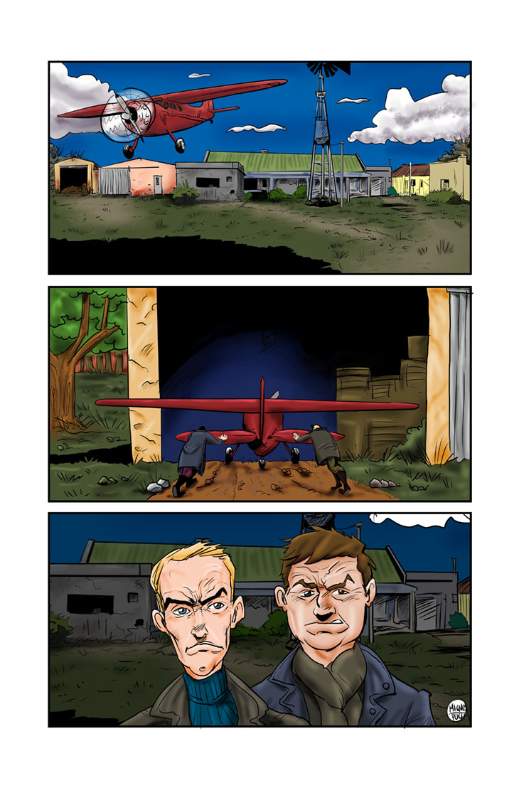 Das Kastelburg Comic Page